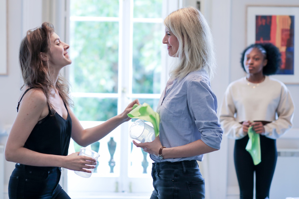 Photo Flash: In Rehearsal with SQUARE ROUNDS at Finborough Theatre