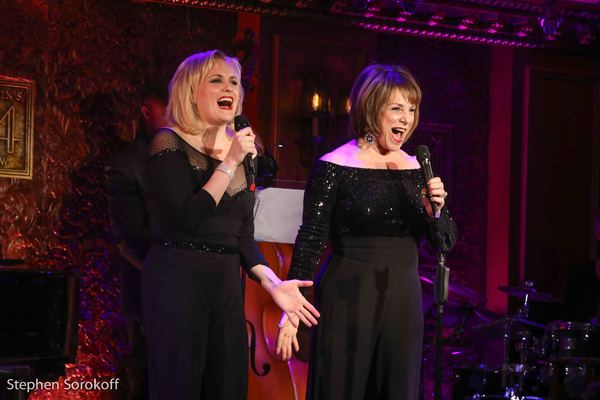 Photos: Michele Lee and Sara Bareilles Visit Jana Robbins and Haley Swindal at Feinstein's/54 Below
