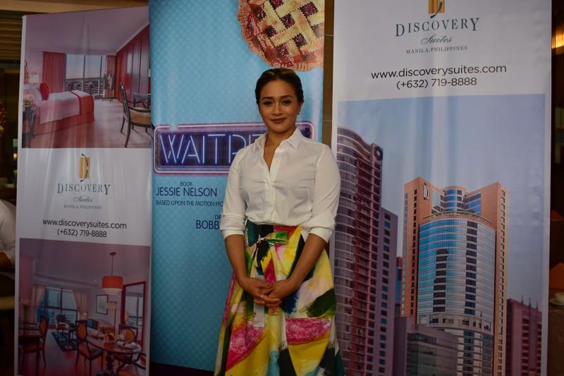 Video/Photo: WAITRESS Star Joanna Ampil Meets The Press