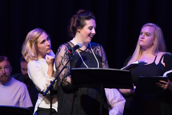Photo Flash: Inside Brian Horne's SECOND TO SHERLOCK New Musical Reading