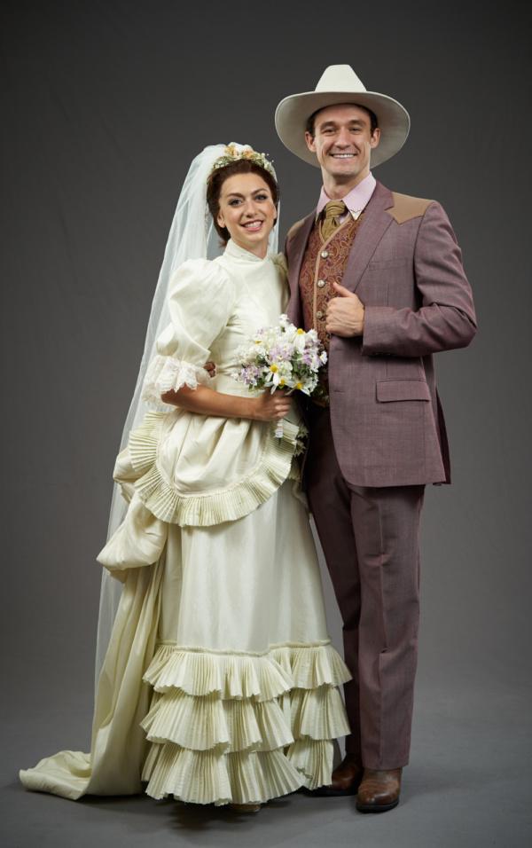 Sarah Ellis and Blake Price