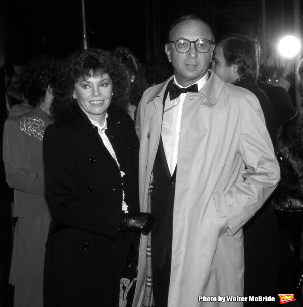 Marsha Mason and Neil Simon attend a movie premiere on October 15, 208 in New York City.