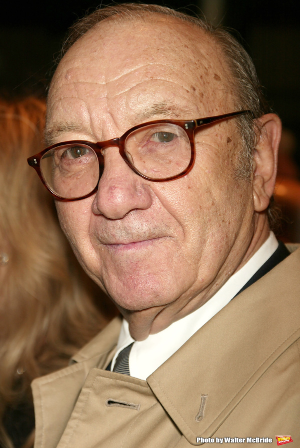 Neil Simon Attending the Opening night performance of Neil Simon's THE ODD COUPLE at the Brooks Atkinson Theatre in New York City. October 27, 2005