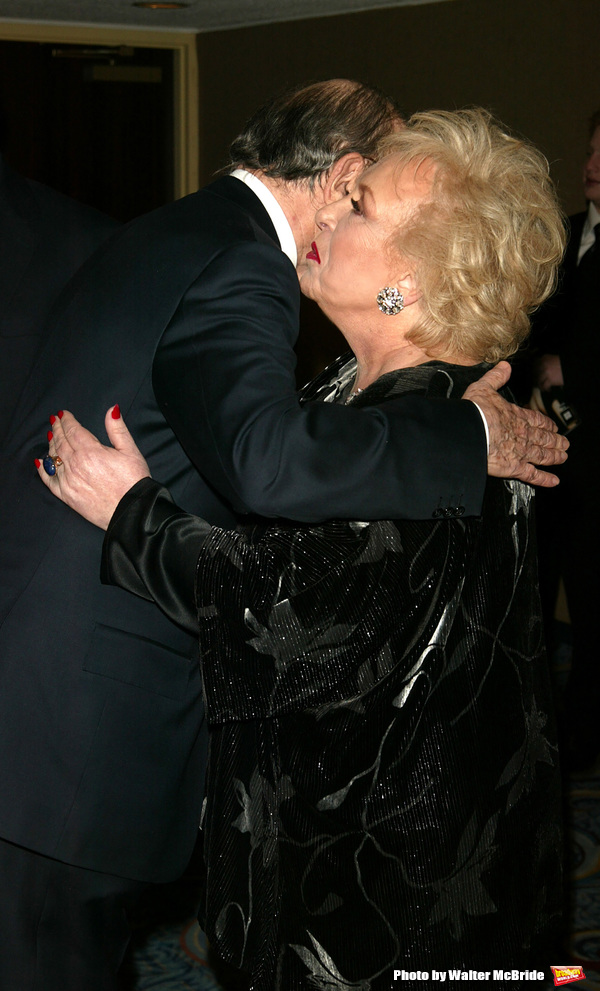 Doris Roberts and Neil Simon Attending the Opening night performance of Neil Simon's THE ODD COUPLE at the Brooks Atkinson Theatre in New York City. October 27, 2005
