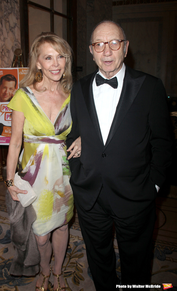 Elaine Joyce & Neil Simon attending the After Party for the Opening Night Broadway pe Photo