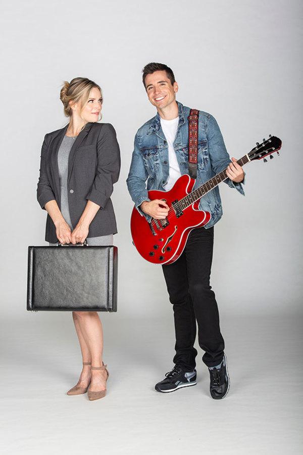 Katie Rose Clarke and Matt Doyle