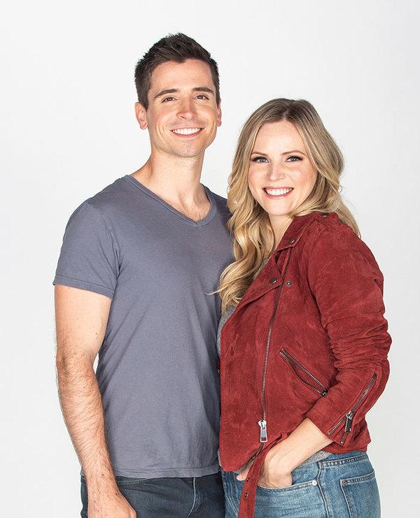 Matt Doyle and Katie Rose Clarke