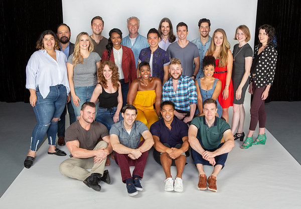 Photo Flash: Meet The Cast of THE HEART OF ROCK & ROLL at The Old Globe, Starring Matt Doyle and Katie Rose Clarke