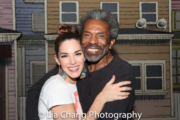 Photo Flash: Broadway Legend Andre De Shields Visits GETTIN' THE BAND BACK TOGETHER