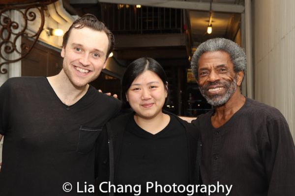 Rob Marnell, Cherie Tay and Andre De Shields
