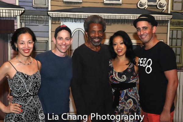 Lia Chang, Garth Kravits, Andre De Shields, J. Elaine Marcos and Nehal Joshi.