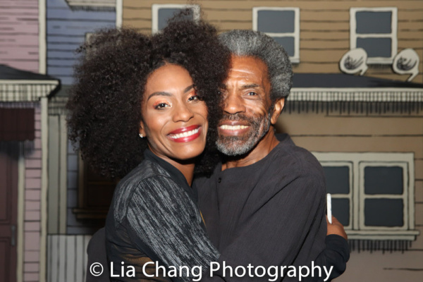 Jasmin Richardson and Andre De Shields