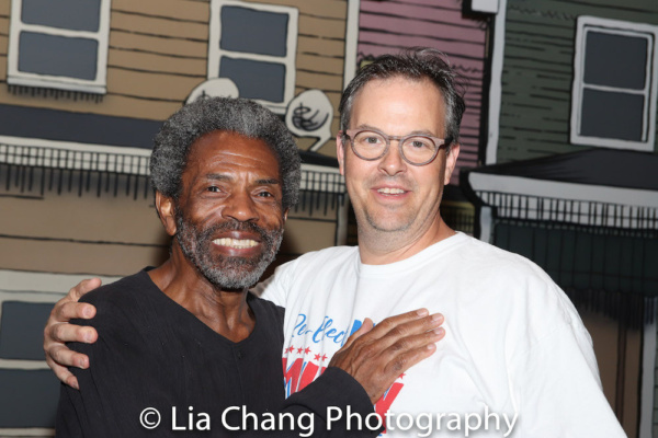 Andre De Shields and Tad Wilson