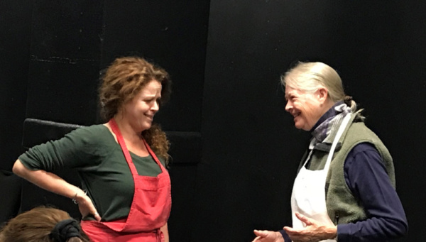 Photo Flash: First Look at IN THE BLEAK MIDWINTER at Shetler Studios