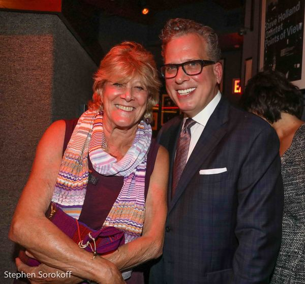Lynn Sherr & Billy Stritch Photo