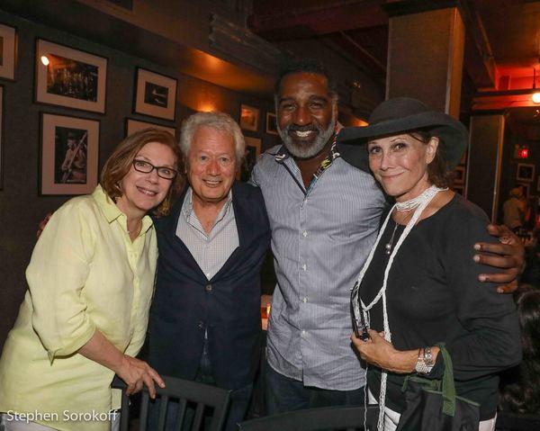 Julianne Boyd, artistic director Barrington Stage Co., Stephen Sorokoff, Norm Lewis,  Photo
