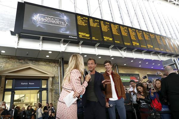 Eddie Redmayne; Jude Law; Edith Bowman