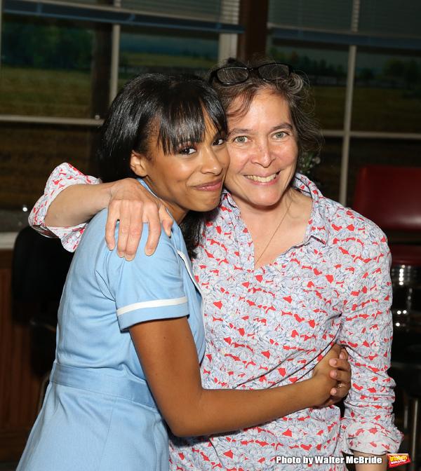 Nicolette Robinson with director Diane Paulus