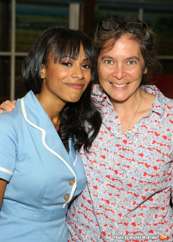 Photo Coverage: Leslie Odom, Jr., Cynthia Erivo, and More Visit Nicolette Robinson Backstage After WAITRESS Debut