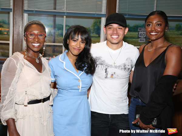 Cynthia Erivo, Nicolette Robinson, Anthony Ramos and Patina Miller
