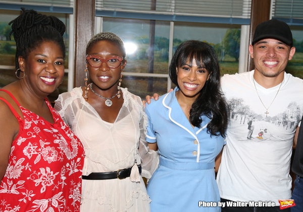 NaTasha Yvette Williams, Cynthia Erivo, Nicolette Robinson and  Anthony Ramos