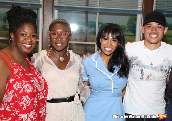 NaTasha Yvette Williams, Cynthia Erivo, Nicolette Robinson and  Anthony Ramos
