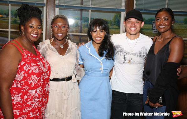 NaTasha Yvette Williams, Cynthia Erivo, Nicolette Robinson, Anthony Ramos and Patina Miller