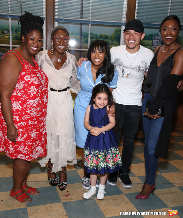 NaTasha Yvette Williams, Cynthia Erivo, Nicolette Robinson, Mariam Bedigian, Anthony Ramos and Patina Miller