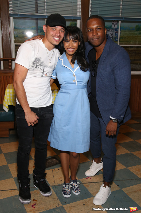 Anthony Ramos, Nicolette Robinson and Leslie Odom Jr