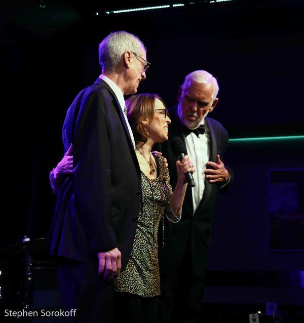 Steve Schalchin, Susie Mosher, Jim Brochu