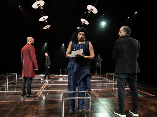 Photo Flash: Get A First Look At SIZE THE KING at La Jolla Playhouse