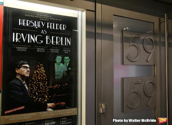 Photo Coverage: Inside Opening Night of HERSHEY FELDER AS IRVING BERLIN at 59E59