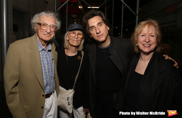 Sheldon Harnick, Margery Harnick and Hershey Felder with wife Kim Campbell