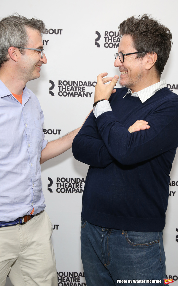 Director Daniel Aukin and playwright Alexi Kaye Campbell