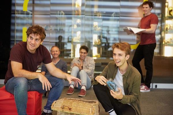 Matt Tait, Ian Houghton, Marcello Cruz, Bradley Foster and Jack Parry-Jones