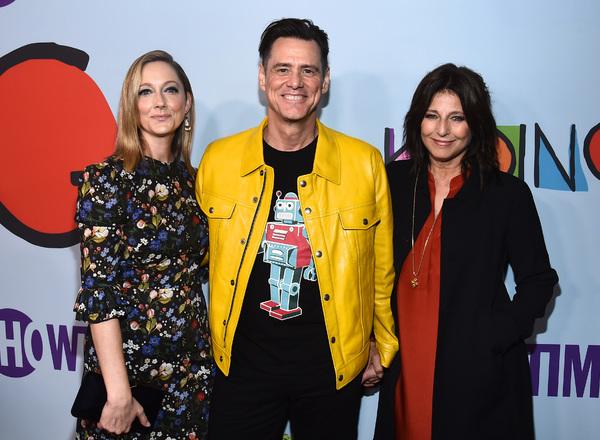 Judy Greer, Jim Carrey and Catherine Keener Photo