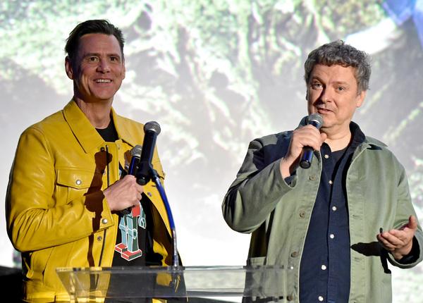 Jim Carrey and Michel Gondry