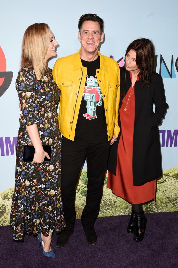 Judy Greer, Jim Carrey and Catherine Keener