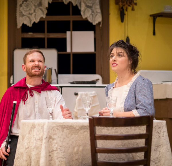 Photo Flash: First Look at THE UNDERPANTS at the Sherman Playhouse