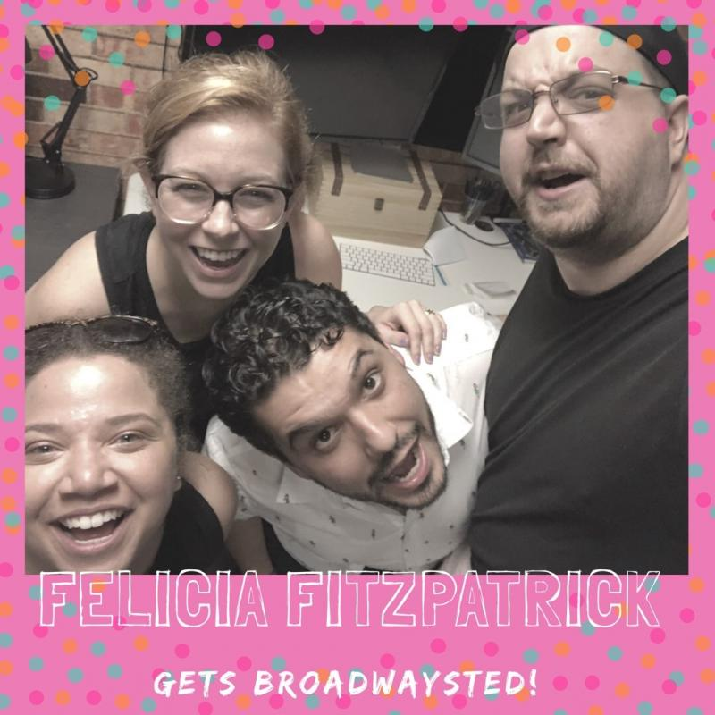 The 'Broadwaysted' Podcast Welcomes Social Media Expert, 'call and response' Podcast Host Felicia Fitzpatrick