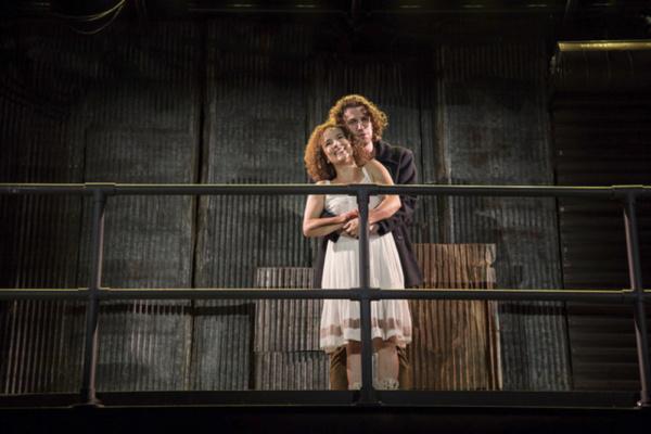 Suzanne Lane (Johanna) and Noah Israel (Antoni)