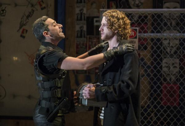 Noah Israel (Antoni) and Benjamin Lurye (The Beadle)
