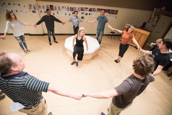 Photo Flash: In Rehearsal for NELL GWYNN at Chicago Shakespeare Theatre