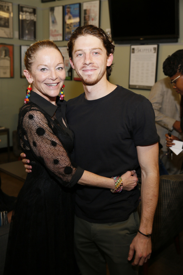From left, cast members Mary Mara and Will Hochman
