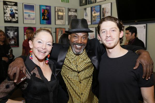 From left, cast members Mary Mara, John Earl Jelks and Will Hochman