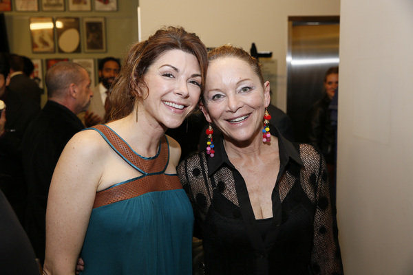 From left, cast members Amy Pietz and Mary Mara