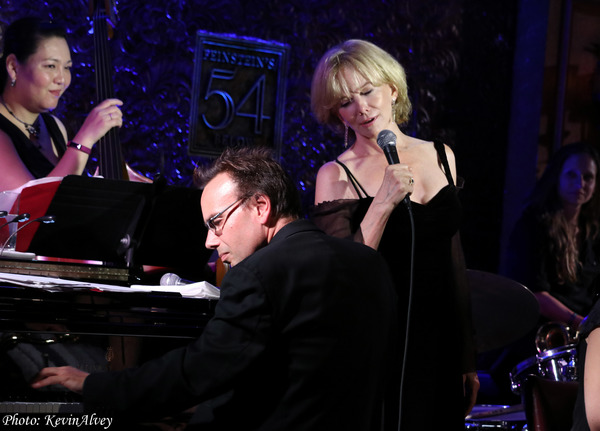 Photo Coverage: Linda Purl and The Diva Jazz Orchestra at Feinstein's/54Below 'Big Band Romance'