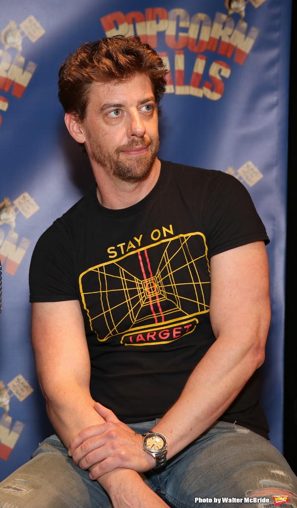 Photo Coverage: Director Christian Borle and the Cast of POPCORN FALLS Meet the Press