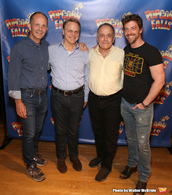 James Hindman, Tom Souhrada, Adam Heller and Christian Borle