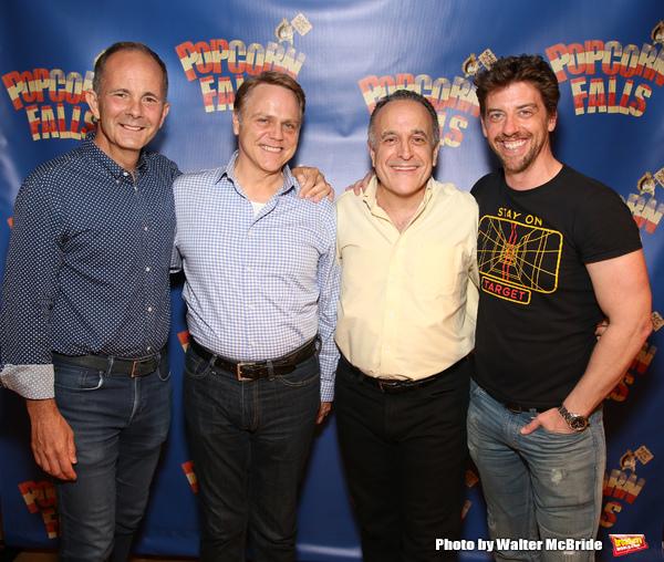 James Hindman, Tom Souhrada, Adam Heller and Christian Borle Photo